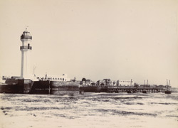 [The lighthouse at Veraval.]